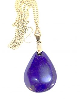 Necklace of Lapis Lazuli stone , Handmade Necklace for Woman
