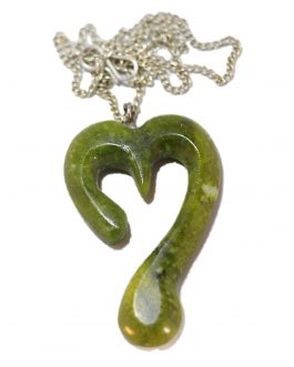 Heart Shaped Jade Stone Pendent for man and women