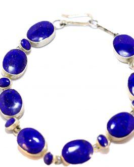 Handmade Bracelet of Lapis Lazuli Stone for Women