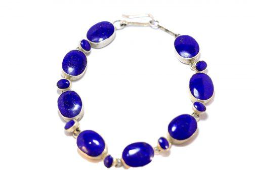 Bracelet of Lapis Lazuli Stone