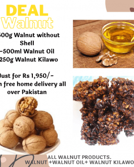 Walnut Deal, Walnut Oil, Walnuts without shell and Walnut Kilawo