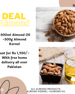 Almond Deal, All Almond Organic Products